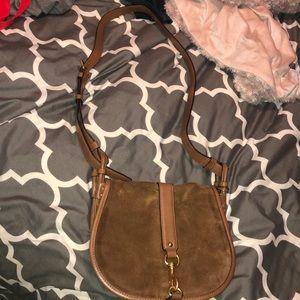 Michael Kors suede/leather bag